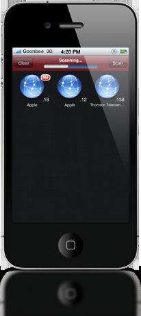 Wifi Network Scanner screenshot