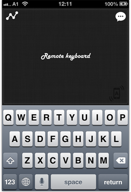 Remote Keyboard+ screenshot