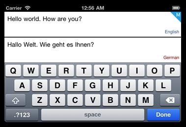 Translizzle screenshot