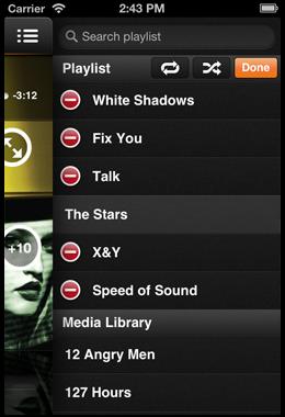 VLC iRemote screenshot